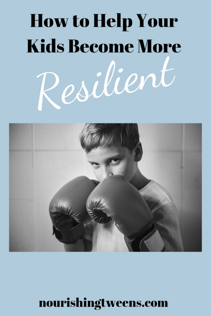 Kids need to fight off adversity to build resilience