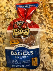 Canyon Bakehouse gluten-free bagels