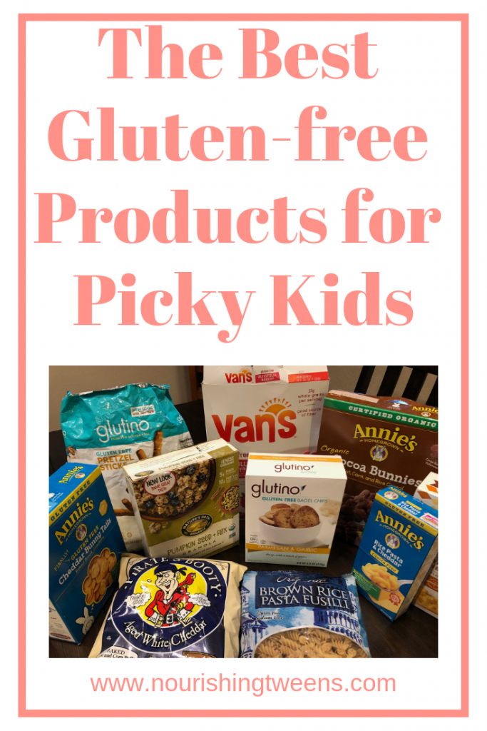 The best gluten-free products for picky kids