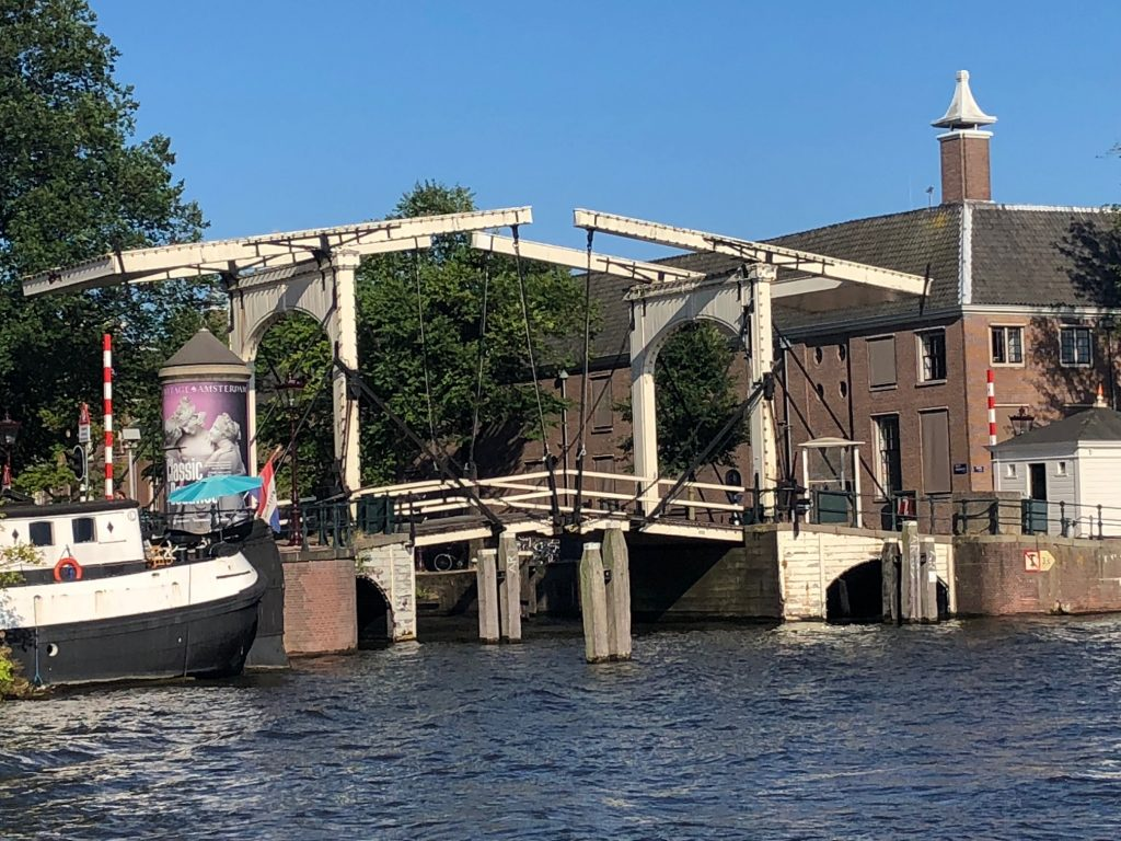 Bridge in Amsterdam