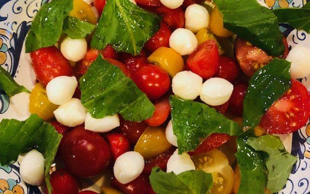 Simple Caprese Salad – 3 Ways
