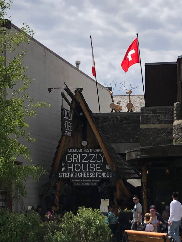 Grizzly House Restaurant, Banff, Canada