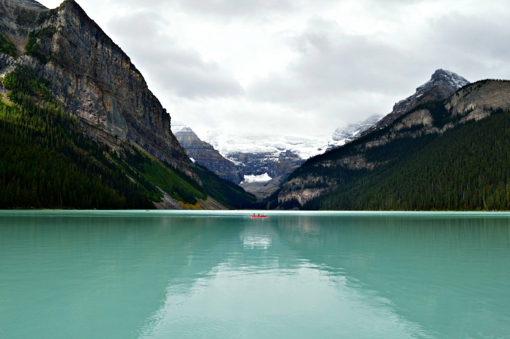 Lake Louise, Banff Photo by April Portrais on Unsplash