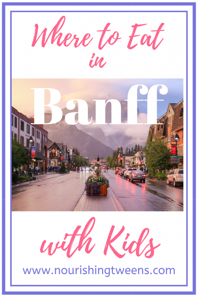 Where to eat in Banff with kids