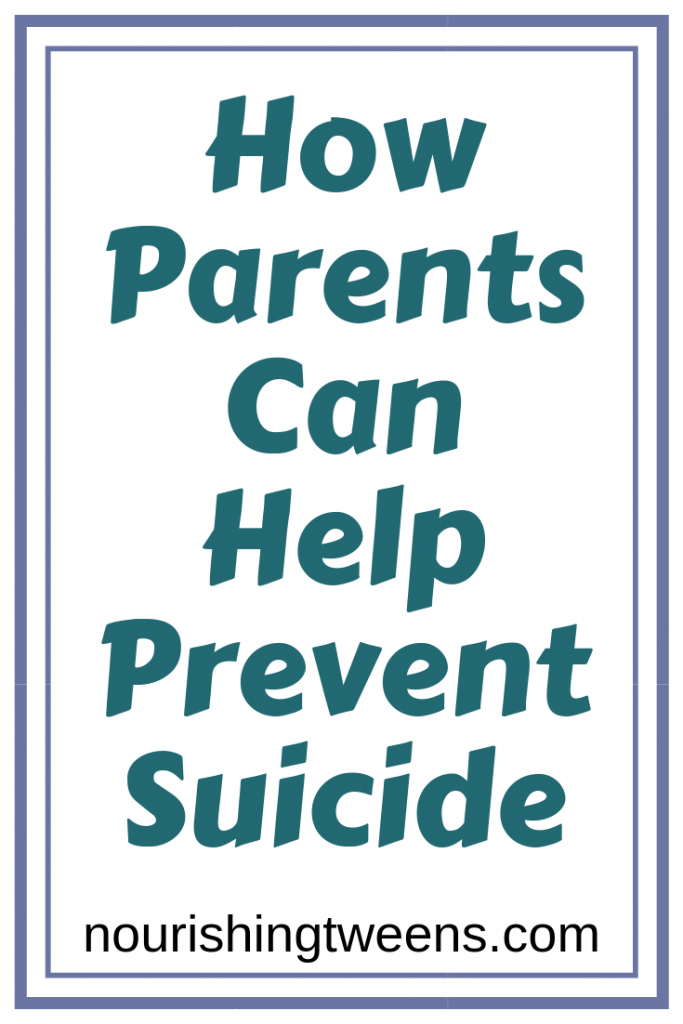 How parents can help prevent suicide