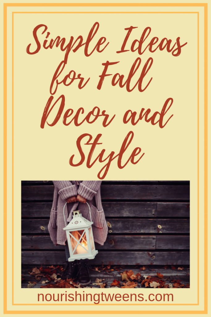 Simple ideas for fall decor and style