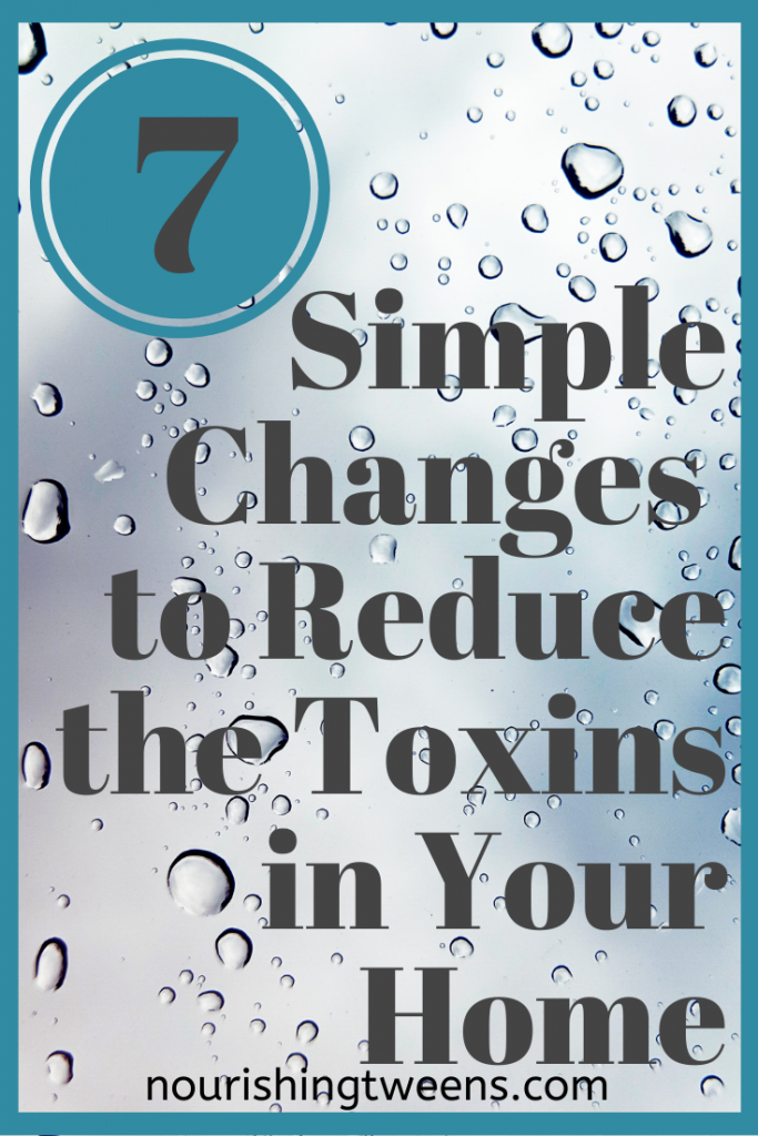 simple changes to reduce toxins