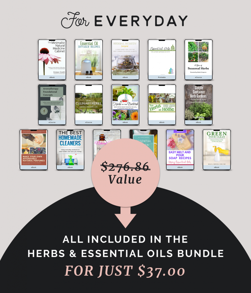 Herbs and Essential Oils Bundle