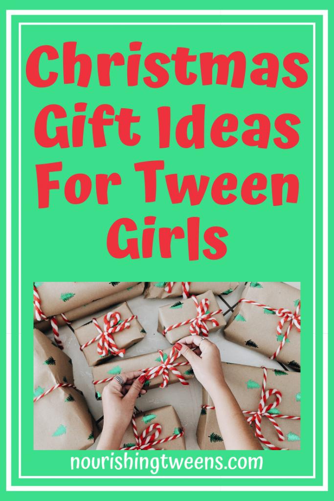 Christmas Gift Ideas for Tween Girls