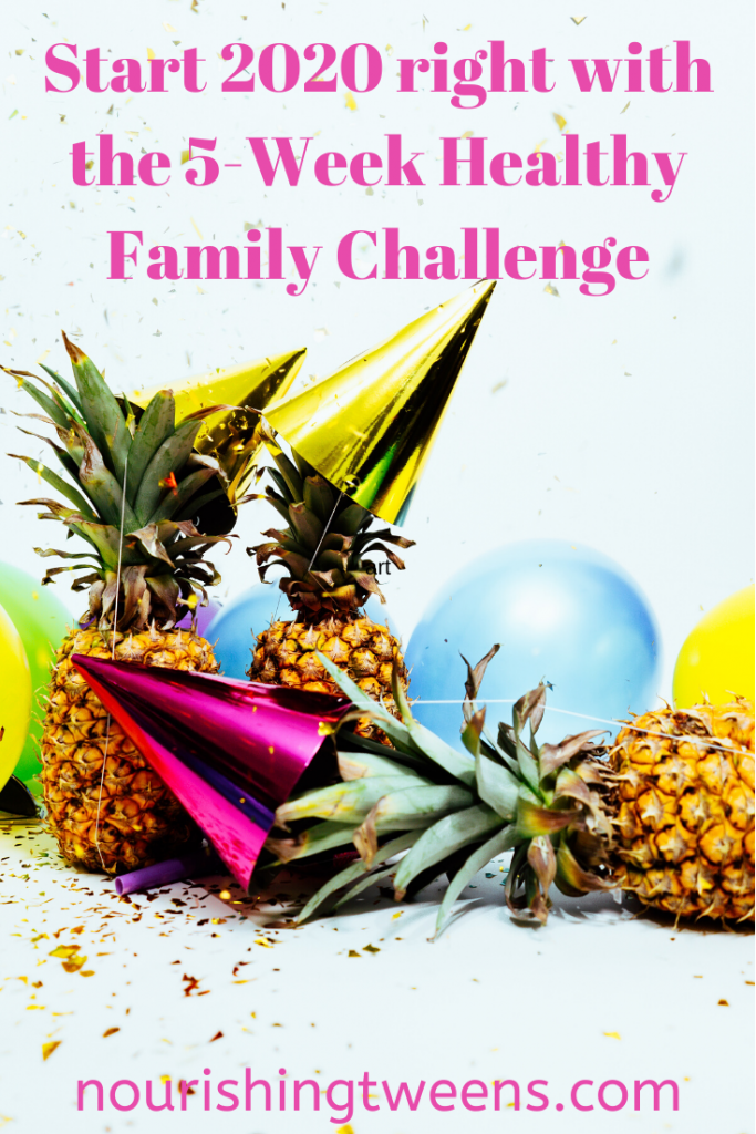 5-Week Healthy Family Challenge