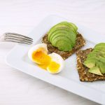 Avocados are eggs contain healthy fats