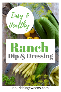 easy and healthy ranch dressing