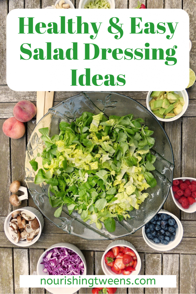 Healthy & easy salad dressing ideas