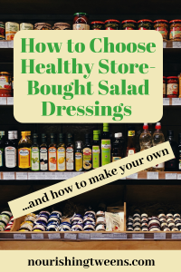 Healthy Store-bought salad dressing Photo by Daria Volkova on Unsplash