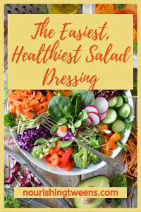 Easiest, healthiest salad dressing Photo by Nadine Primeau on Unsplash