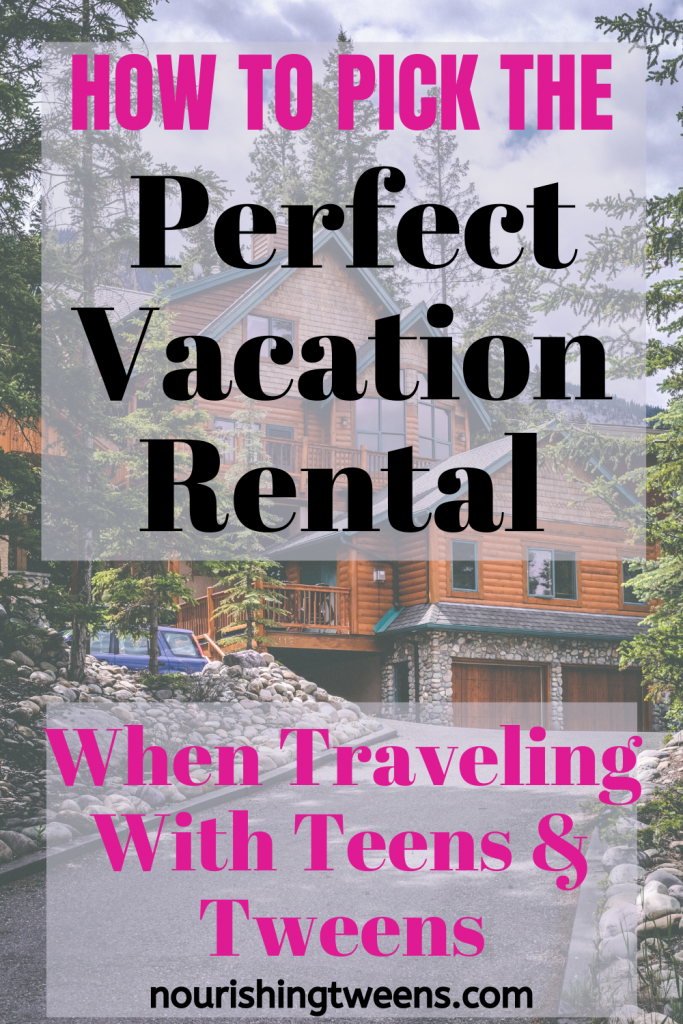 Perfect vacation rental for traveling with tweens and teens Photo by Andy Holmes on Unsplash