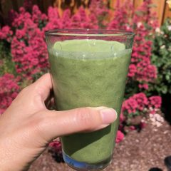 Monday morning green smoothie