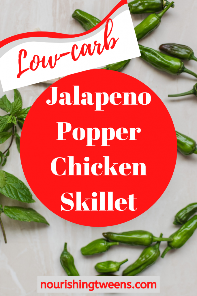 Jalapeno popper chicken skillet