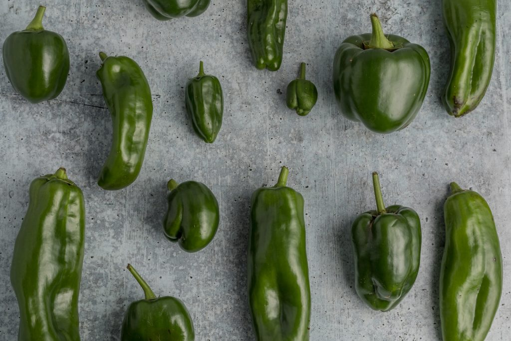 Green peppers Photo by Sarah Gualtieri on Unsplash